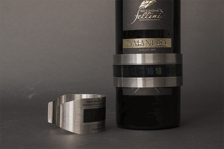 Thermometer, chromium steel cuff